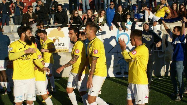 El Atlético Baleares, líder tras vencer al Conquense