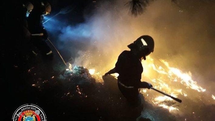 Cantabria en alerta con 32 focos de fuego activos