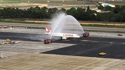 La aerolínea Laudomotion ocupa el espacio de Germania y Norwegian en el aeropuerto de Palma