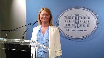 Nuria Riera, portavoz parlamentaria del PP Baleares