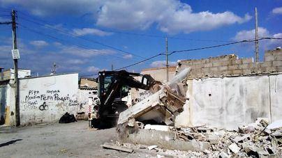 Cort derriba otra casa en Son Banya