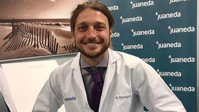 Juaneda incorpora una novedosa técnica de implante capilar