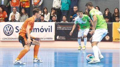 El Palma Futsal cae en el último minuto en Navarra