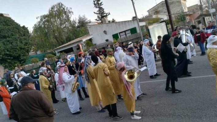 Las calles de Marratxí se llenan de color con la Rua de Carnaval