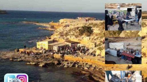 Desmantelan una fiesta ilegal que celebraban 50 personas en Cala Conta
