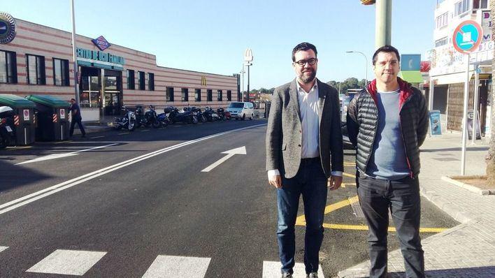 Finalizan las obras en la calle Joan Miró