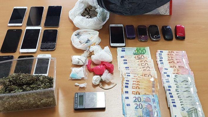 Dos detenidos en Génova y Playa de Palma por tráfico de drogas