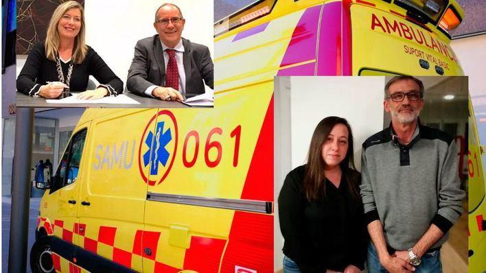 Salut reconoce 'deficit' de ambulancias de noche y anuncia una más desde marzo