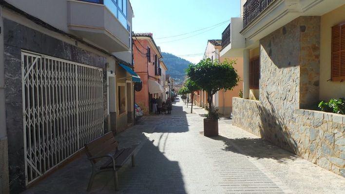 Andratx moderniza las calles Constitución y Baltasar Porcel
