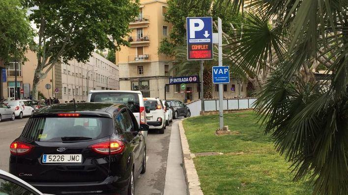 Los aparcamientos de Palma generan 2,7 millones de beneficios