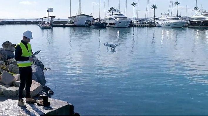 La Autoridad Portuaria vigilará con drones sus instalaciones en Baleares