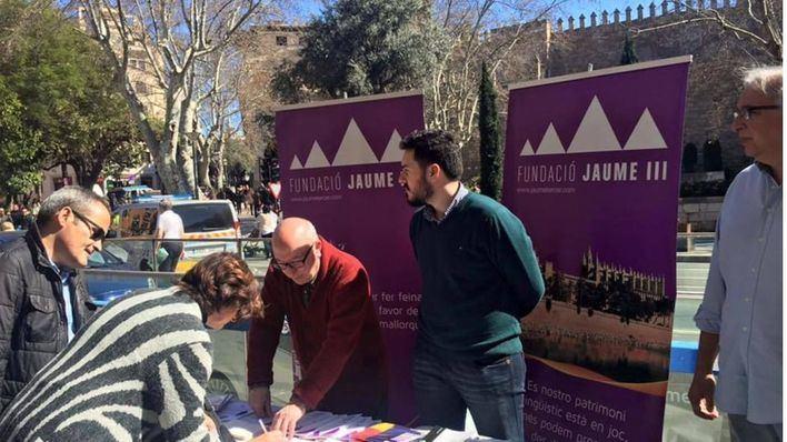 Fundació Jaume III denuncia que el Govern censura su presencia en el Día de las Baleares