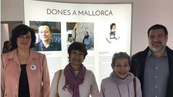 La exposición itinerante 'Huellas de mujeres geniales' llega a Mallorca