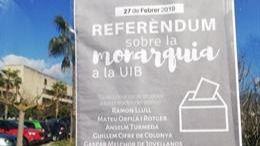 El 'Sí a la República' gana por un 91% en el Referéndum de la UIB