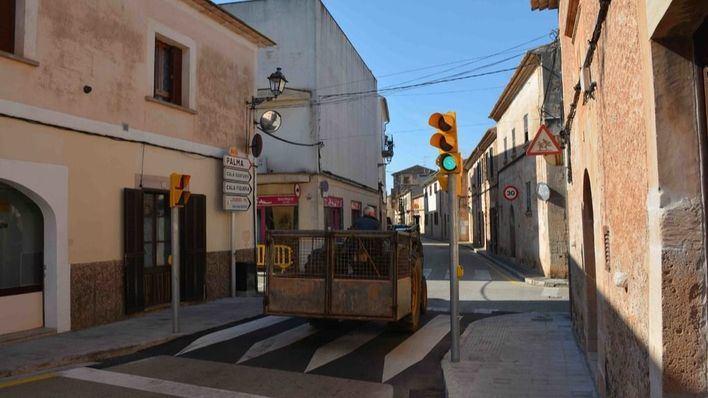 Santanyí estrena nuevos semáforos