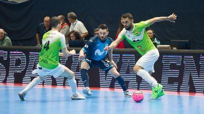 El Palma Futsal dice adiós a la Copa de España