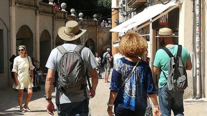 Baleares recibe un 19 por ciento más de turistas extranjeros que gastan un 19 por ciento más