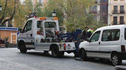 Los policías de Palma ordenarán telemáticamente la retirada de coches con la grúa