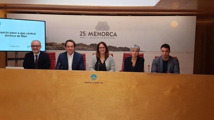 Proyecto de Endesa para pasar a gas natural la central térmica de Maó