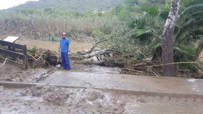 Rehacer caminos destruidos por la riada del Llevant ya ha costado 2,5 millones