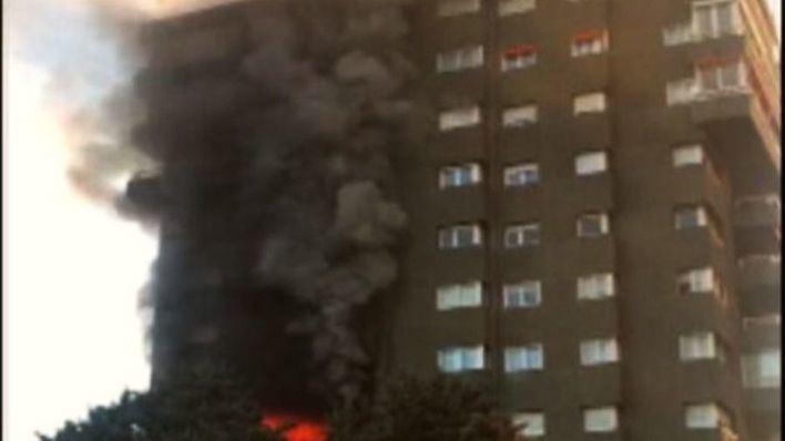 Fallecen dos personas al arder una vivienda en Barcelona
