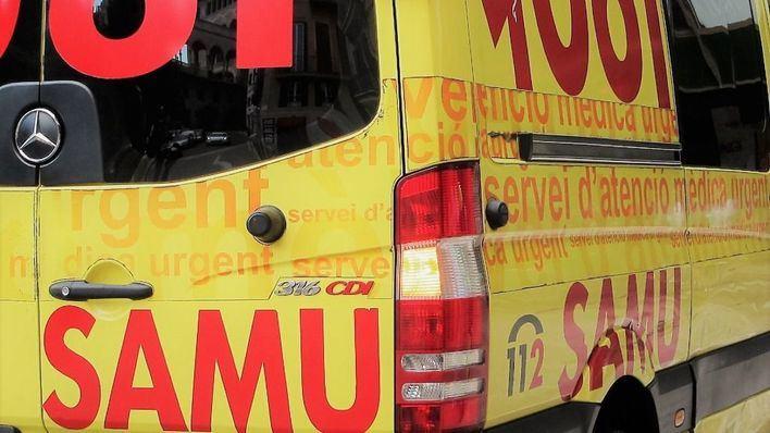 Un motorista, grave tras un accidente cuando iba con su hijo por la carretera Llubí-Santa Margalida