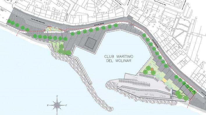 La remodelación del Port del Molinar arranca el 18 de marzo