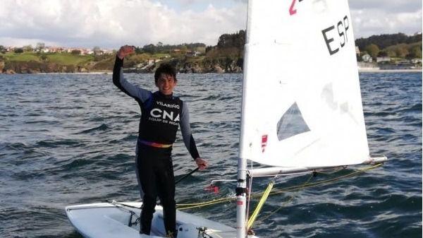 Vilariño campeón de Baleares en la Laser Radial