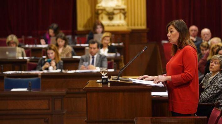 Armengol cifra en 550 millones el REB y dice que Balears