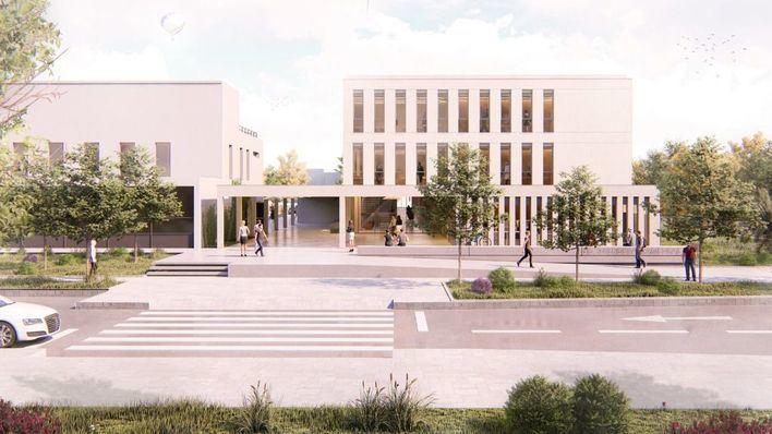 Se presentan los planos de un nuevo edificio de la UIB con laboratorios, aulas y despachos