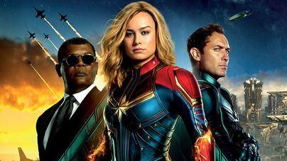 'Capitana Marvel' aterriza en los cines este viernes
