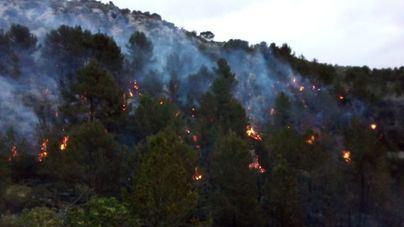 El incendio de Son Ordines se originó por una quema de rastrojos