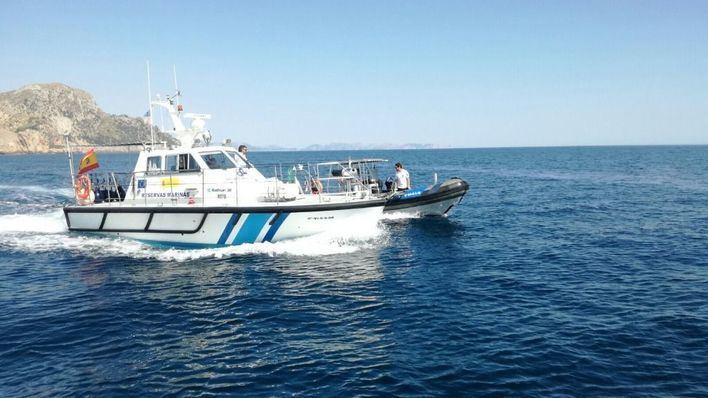 Pillados in fraganti pescando en la reserva protegida de Llevant