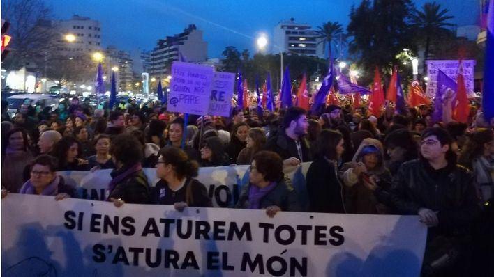 La Manifestación del 8M en Palma arrancará en la Plaza de España