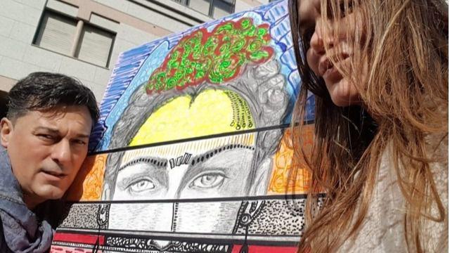 """Exposición de pintura """"Miradas en el espejo"""" en la galería de arte Can Boni"""