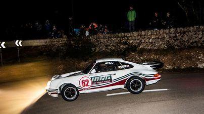 Máxima emoción en el arranque del XV Rally Clásico Mallorca