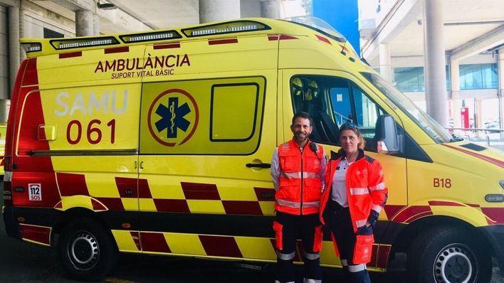 El 061 suma en Palma una nueva ambulancia durante las noches
