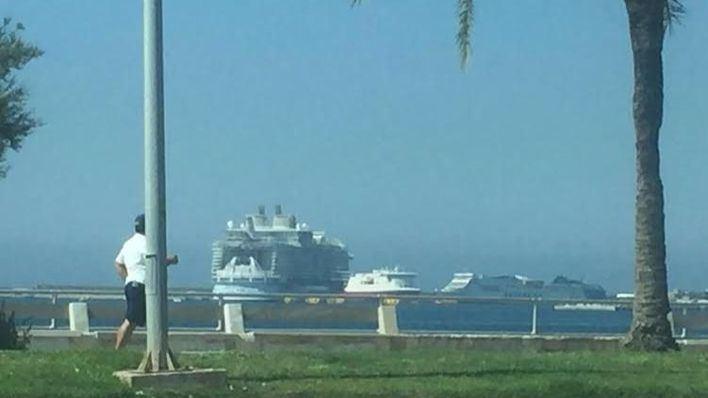 Crece el número de turistas de crucero llegados a Palma en enero