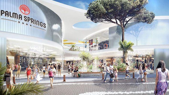 El gigante comercial Palma Springs, más cerca de ser una realidad