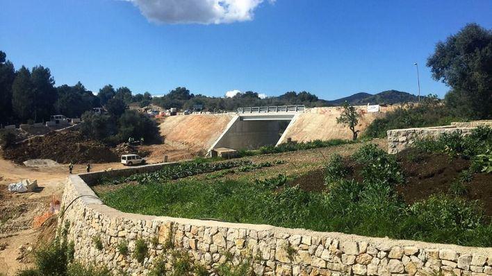 Reabierto el puente de Artá que fue arrasado por la torrentada