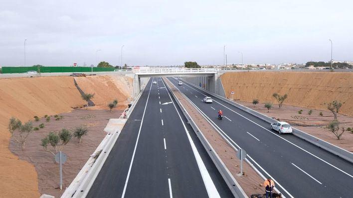 Reabre la vía conectora entre la carretera de Manacor y la rotonda de Son Ferriol