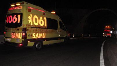Herido grave un motorista tras ser embestido por una furgoneta en la salida de Palmanova
