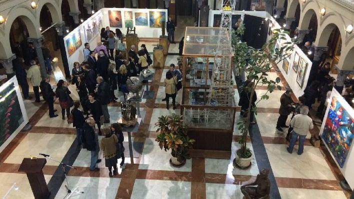 Imagen de archivo de una exposición en Madrid de artistas baleares