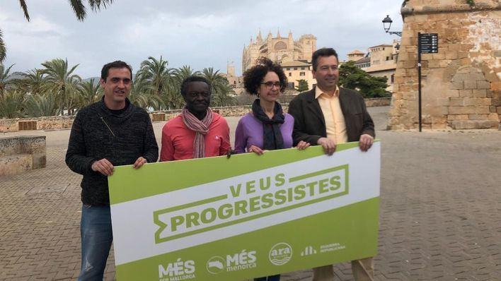 Més, Esquerra Republicana y Ara Eivissa se unen para concurrir a las generales