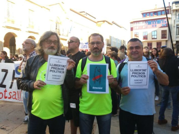 El STEI se suma a la manifestación contra el juicio del 'Procés' del sábado en Madrid