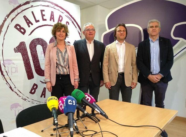 Joan Miralles aspira a ser la 'voz de Baleares en Madrid sin ataduras'