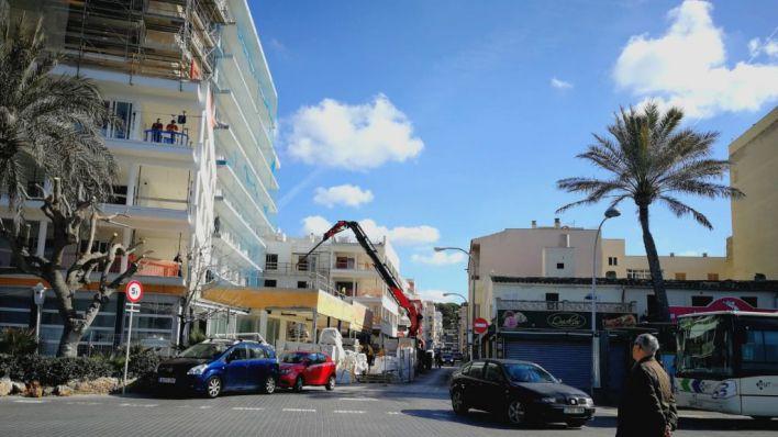 """La construcción crece un 16% en Baleares aunque los empresarios niegan """"boom inmobiliario"""""""