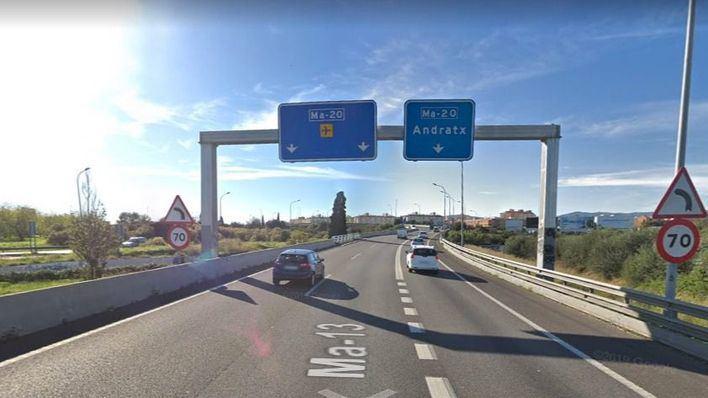 El Consell planea dos carriles más de la autopista de Inca con Vía de Cintura a dos meses de elecciones