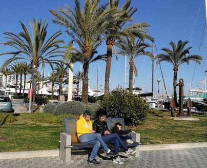 Viernes con cielo azul y temperaturas en ascenso en Baleares