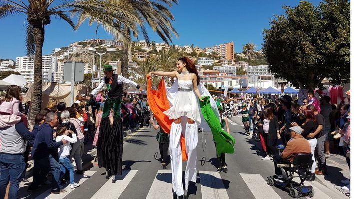 San Patricio llena de fiesta las calles de Santa Ponça